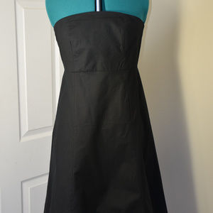 NEVER WORN GAP Strapless black dress